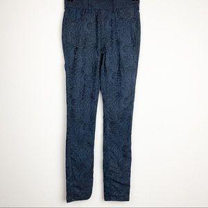 Altard State Blue & Black Leggings XS